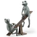 Playground Days Frogs Garden Sculpture