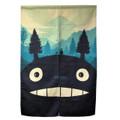 Totoro Cotton Blend Noren