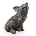 Iron Pig Garden Sculpture