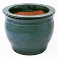 "8"" Rd Self Water Pot Jade"