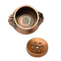 Copper Lion Bowl Incense holder- Mini