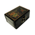 Leather Rectangular Storage Box Black