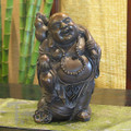 Bronze Smiley Buddha 9i