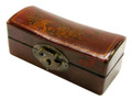 Leather Small Pillow Box Red