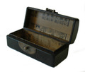 Leather Small Pillow Box Black