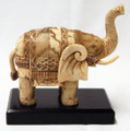 Ox Bone Elephant Statue
