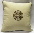 18 Linen Seal Natural Pillow Case