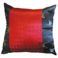 22 BK/ Red Butterfly Pillow