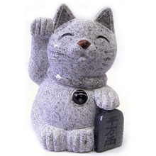 Granite fortune cat