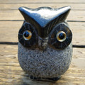 Granite Black Owl 9cm