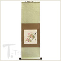 Silk Cherry Blossom Scroll Small