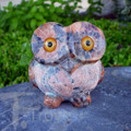 Owl 1 Light Granite Big Eyes