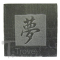 Slate Tile Coaster with Dream Character