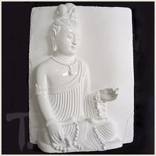 Teaching Quan Yin White Porcelain Tile