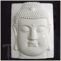 Buddha Head White Porcelain Tile