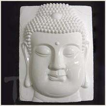 Buddha Head White Porcelain Tile
