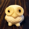 White Marble Snowy Owl Front
