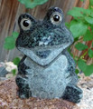 Granite Happy Frog 9cm