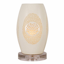 Pierced Bone China Table Lamp