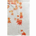 Autumn Maple Linen Noren