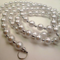 72in Faux Pearl Garland