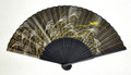 Autumn Night Black Fan