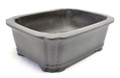 Purple Clay Rectangular Bonsai Pot 6.75x5.5x2.25in