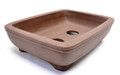 Purple Clay Rectangular Bonsai Pot 6x4.5x1.75in