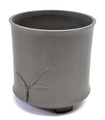 Purple Clay Round Bonsai Pot 3.5x3.5x3.75in