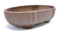 Purple Clay Oval Bonsai Pot 6.5x3.5x1.5in
