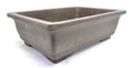 Purple Clay Rectangular Bonsai Pot 13x9x4in