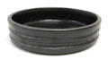 Black Ikebana Dish 8.5in