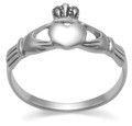 Sterling Silver Claddagh Ring 1174 (for smaller Claddagh ring see 1154)