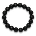 Onyx 10mm beads elasticated bracelet 3532ON