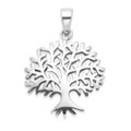 Sterling Silver Tree of Life Pendant - SIZE: 20mm x 22mm. Excluding Chain. 8098