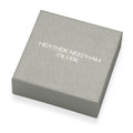Gift box - good quality box with magnet lid, suitable for Pendants, Earrings &  Brooches -  SIZE: 75mm x 75mm x 25mm
