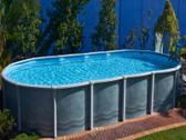 7.6m x 4.6m x 1.37m Fresh Water Above Ground Pool