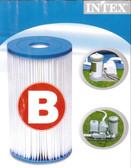 Intex B Cartridge Filter Element