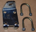 GL80LHD Steering Damper Mounting Bracket with Clamps