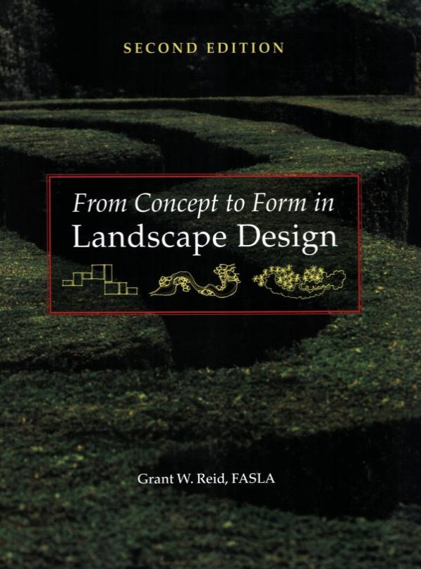 From Concept To Form In Landscape Design 2nd Edition