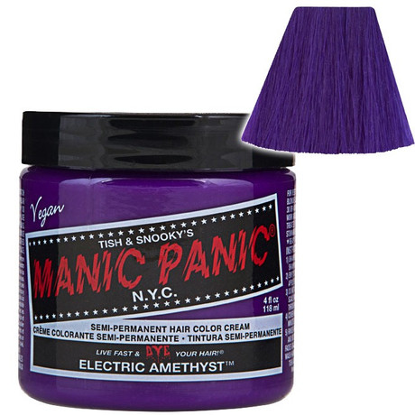 Trash Monkey ** Electric Amethyst - Classic Hair Dye Manic Panic