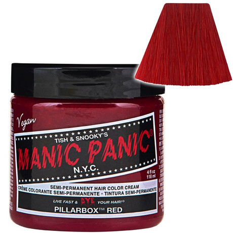 Trash Monkey ** Pillarbox Red Classic Hair Dye Manic Panic