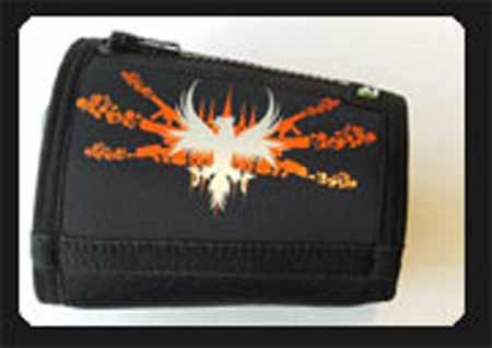 Trash Monkey** ITZ Arm Wallet Disco Phoenix - Black