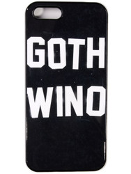 "Trash Monkey ** DISTURBIA - ""Goth Wino"" iPhone Case"