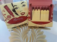 Trash Monkey ** Besame - Merlot & Cherry Red Matchbook Lipstick
