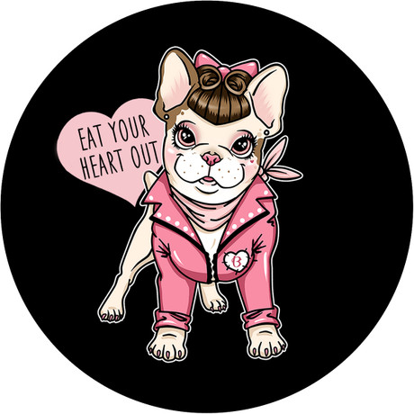 Show everyone how much you love Bettie! Bettie Rizzo Badge