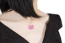 Vinca Hello Kitty Head Necklace