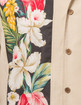 Steady Clothing - Hibiscus Tiki Panel Button Up in Stone Hawaiin Retro Shirt