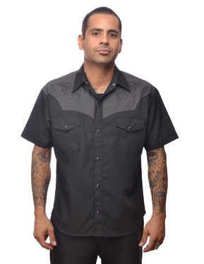Trash Monkey ** Steady Clothing - Pistol Western Shirt