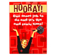 Trash Monkey ** Vintage Fridge Magnets ~ G&T Time  Give some good ole' Fashion Fun to your Groovy Fridge and adorne it in Vintage & Retro Magnets!  4 Styles Available ~ 9cmx6cm